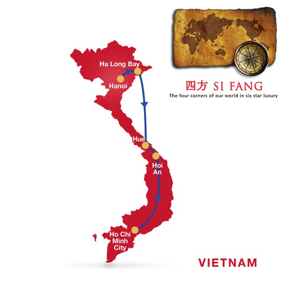Luxury Travel: Vietnam, Star of the East